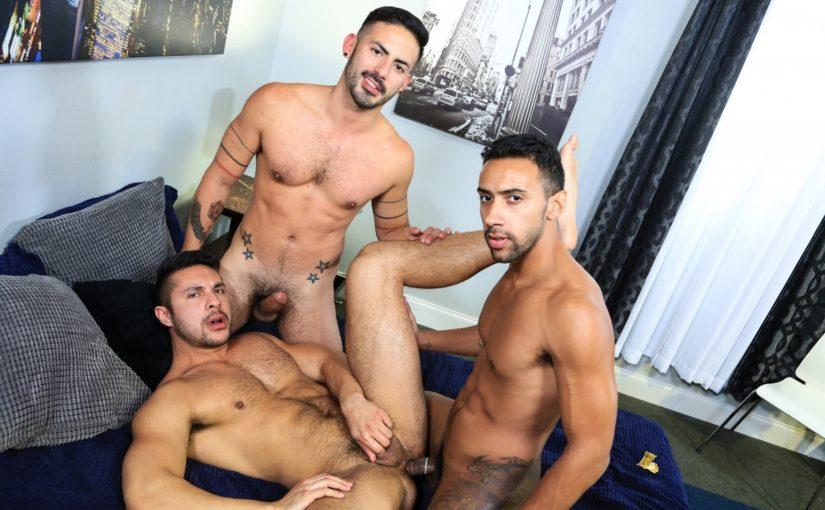 Surprise Big Dick Threeway
